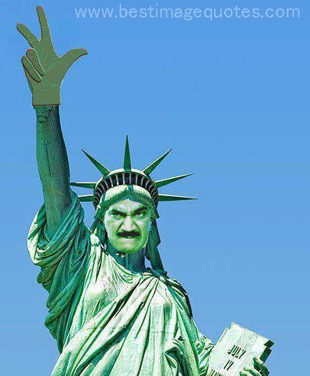Title: Statue of Liberty or Statue of CID [Funny Picture]