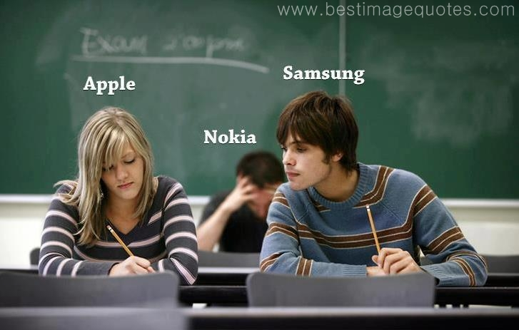 Apple vs Samsung vs Nokia while designing a phone