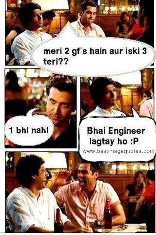 Engineer with no girlfriend Funny Picture