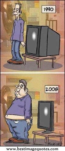 Difference between 1990 and 2008 [Funny Picture]