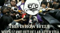 How I felt when I came out of lab after viva-funny troll