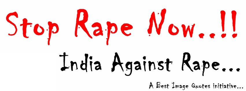 Stop Rape Now India against rape cover picture
